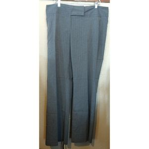 """""""Maurices"""" I am Polishef Gray Pinstripe Trousers"""